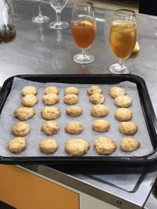 20170622クッキーとレモンティー